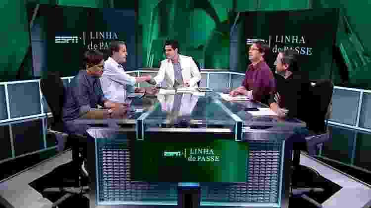 """Programa """"Linha de Passe"""" - ESPN Brasil  - ESPN Brasil"""