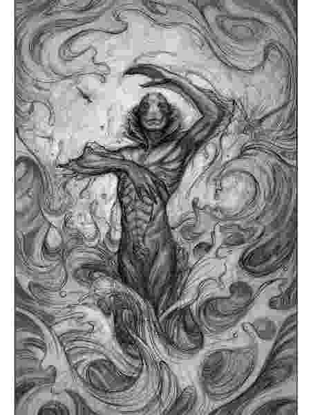 """Ilustração do livro """"A Forma da Água"""" - Divulgação/James Jean - Divulgação/James Jean"""