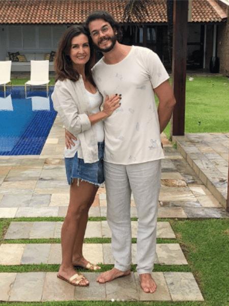 Fátima Bernardes e Túlio Gadêlha - Reprodução/Instagram/fátimabernardes