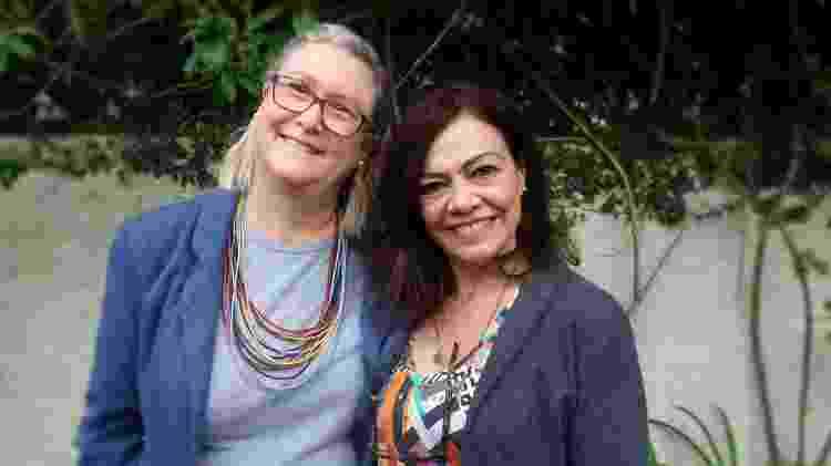 Veronique Forat e Marta Monteiro - Arquivo Pessoal - Arquivo Pessoal