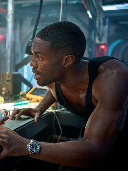 """Yahya Abdul-Mateen II é o Arraia Negra em """"Aquaman"""" - Reprodução/EW"""