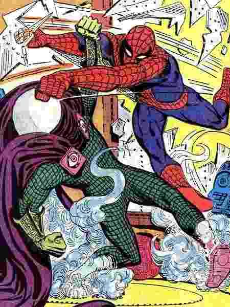 Steve Ditko foi co-criador de Homem-Aranha - Reprodução - Reprodução