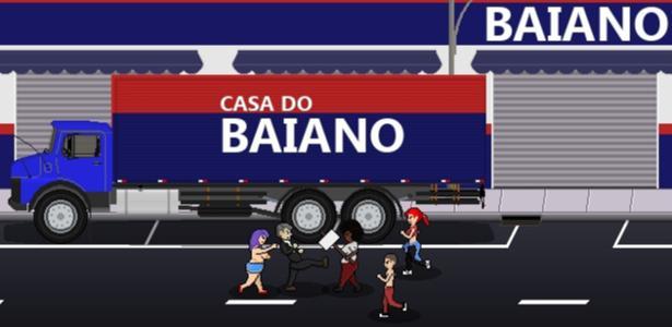 No jogo, Bolsonaro espanca e mata opositores