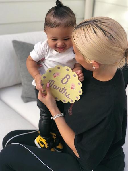 Kylie Jenner e Stormi - Reprodução/Instagram