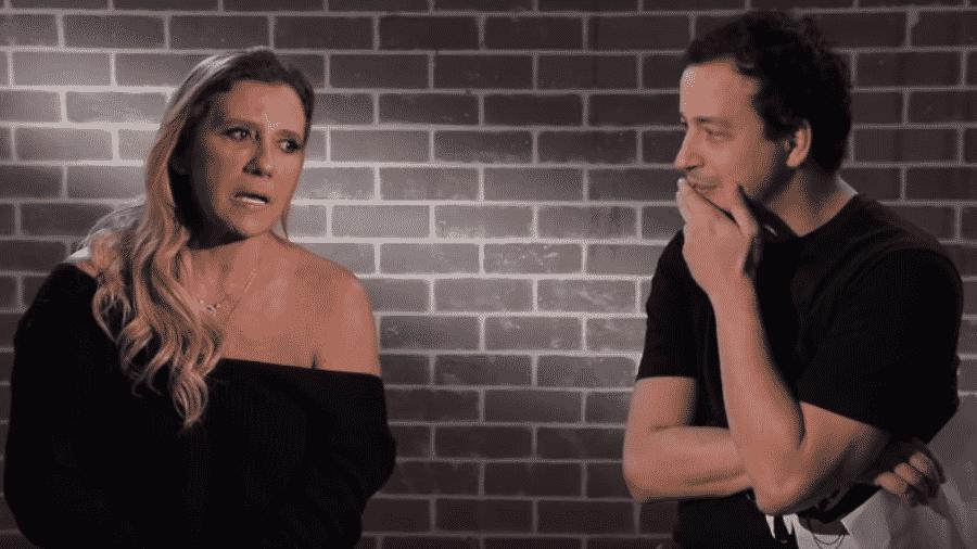 Rita Cadillac durante entrevista para o canal de Rafael Cortez - Reprodução / YouTube