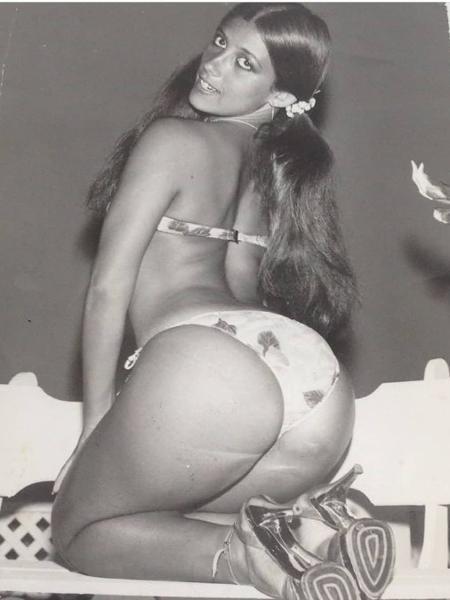 Rita Cadillac relembra foto sensual aos 20 anos - Reprodução/Instagram
