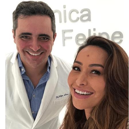 Sabrina Sato com o cunhado, Felipe Abreu - Reprodução/Instagram