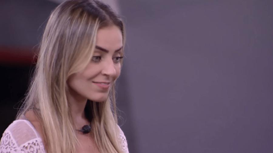 Paula conta que votou em Alan - Reprodução/GloboPlay