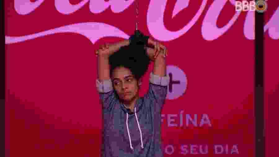 Gabriela participa da sexta prova do líder do programa - Reprodução/GloboPlay
