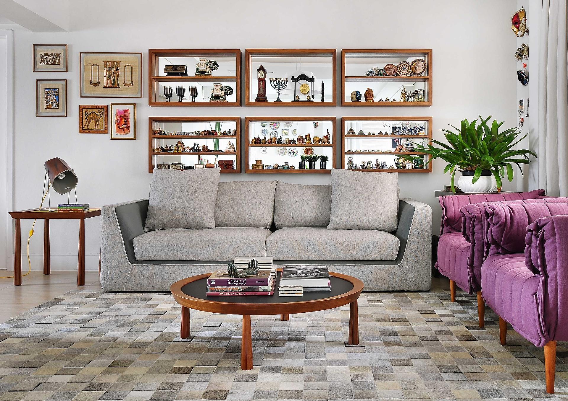 2f8f3d321 Fotos: 20 ideias de como aproveitar coleções pessoais na decoração ...