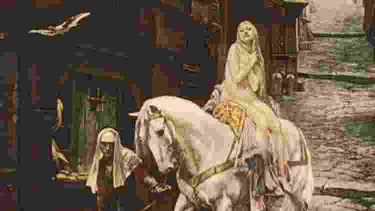Lady Godiva - Reprodução - Reprodução