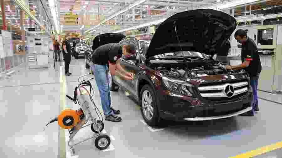 Fábrica da Mercedes-Benz em Iracemápolis (SP) - Divulgação