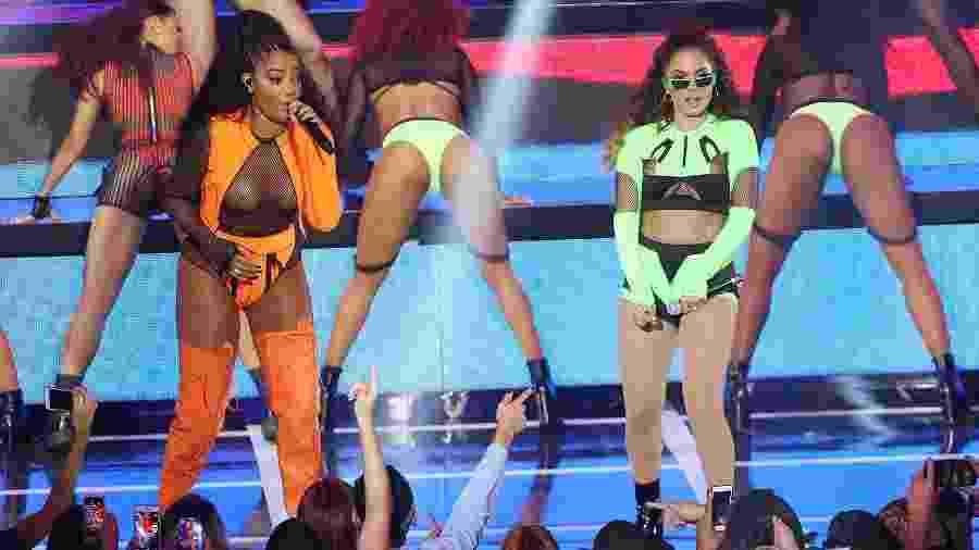 Ludmilla e Anitta no MTV MIAW 2019 - Manuela Scarpa e Iwi Onodera/Brazil News