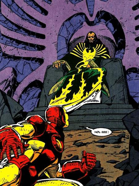 Mandarim nos quadrinhos da Marvel - Reprodução