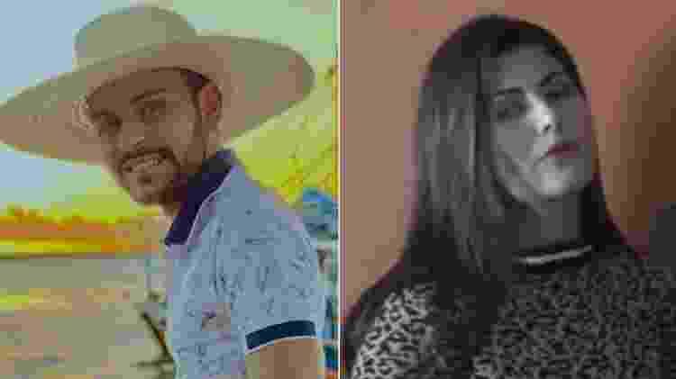 Thullio Milionário e a blogueira Luciene Borges - Fotomontagem/Reprodução/Instagram - Fotomontagem/Reprodução/Instagram