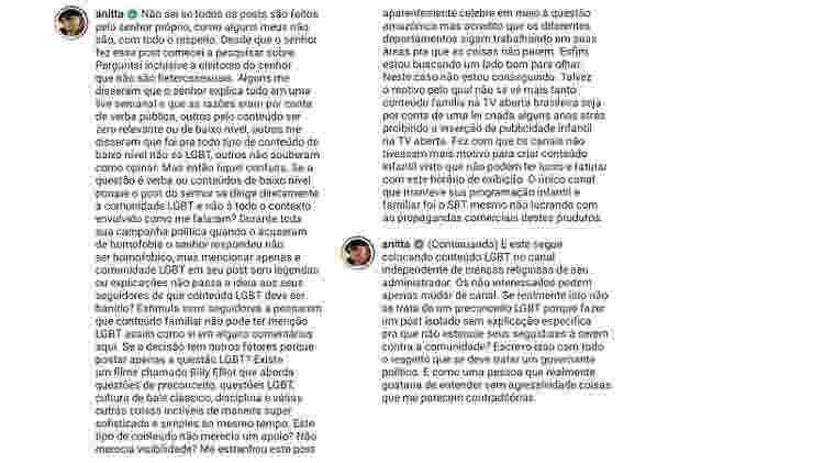 Anitta Bolsonaro - Reprodução/Instagram - Reprodução/Instagram