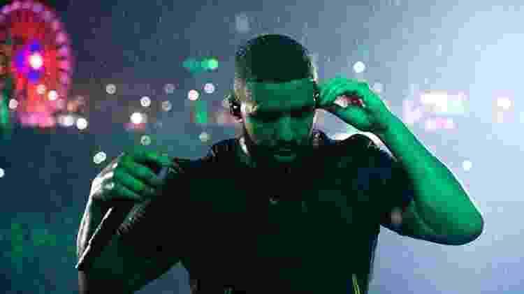Drake no Rock in Rio - Theo Skudra/Reprodução Instagram @champagnepapi - Theo Skudra/Reprodução Instagram @champagnepapi