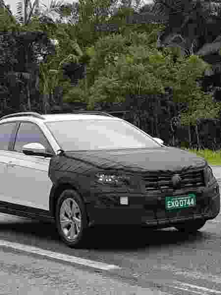 SUV cupê da Volkswagen já está em testes no Brasil, onde será lançado no ano que vem com fabricação local - Vitor Matsubara/UOL