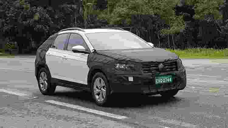 Flagra do novo SUV cupê da Volkswagen - Vitor Matsubara/UOL - Vitor Matsubara/UOL