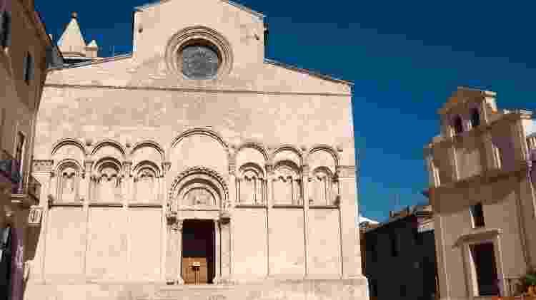 A catedral de Termoli abriga relíquias de São Timóteo, o primeiro evangelista cristão que viajou com São Paulo - Getty Images/iStockphoto - Getty Images/iStockphoto