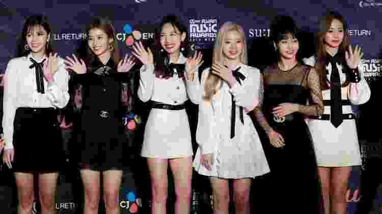 O grupo feminino de k-pop TWICE levou dois prêmios no MAMA 2019 - Kim Kyung-Hoon/Reuters