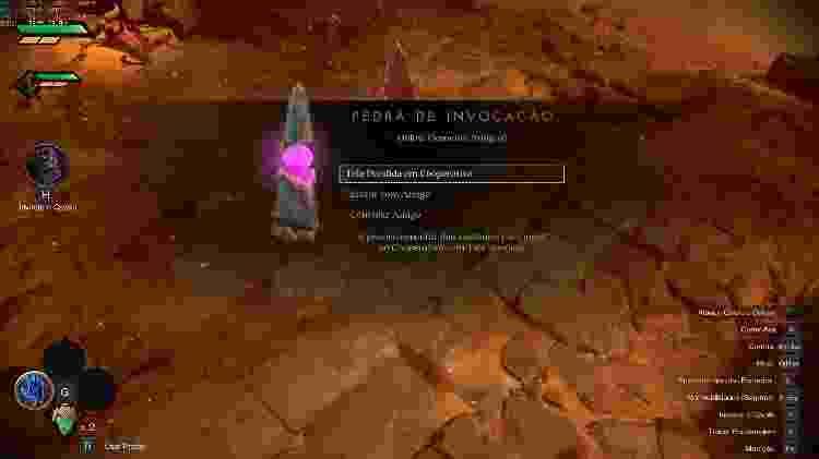 Darksiders Pedra de Invocação - Reprodução - Reprodução