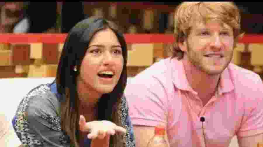 Tessália e Michel no BBB10 - Reprodução/TV Globo