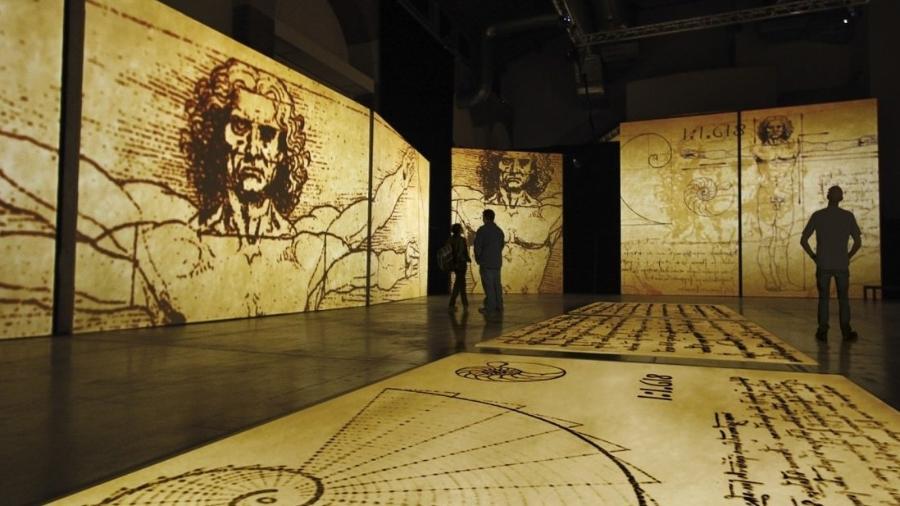 Exposição de Leonardo Da Vinci no MIS é destaque em programação cultural do Carnaval - Divulgação