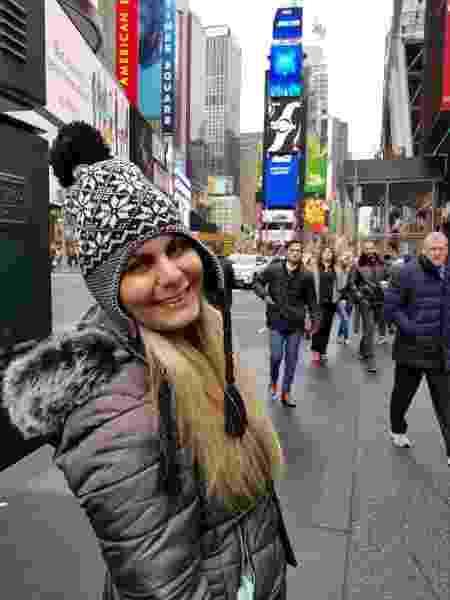 Ana Silva, 35, contraiu a Covid-19 em Nova Iorque, epicentro da pandemia nos EUA - Arquivo pessoal