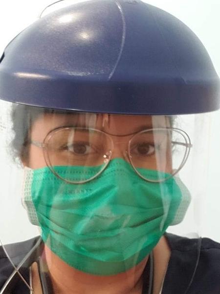 Taiane Solin é médica emergencista no interior de São Paulo - Arquivo pessoal