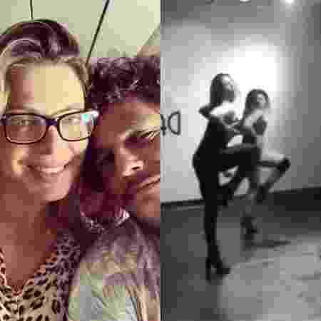 Sheila Mello e João Feijão  - Reprodução / Instagram