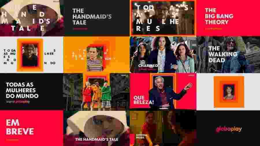 Imagem divulgada pela Globo para mostrar a diversidade de conteúdo do seu novo serviço de streaming - Divulgação