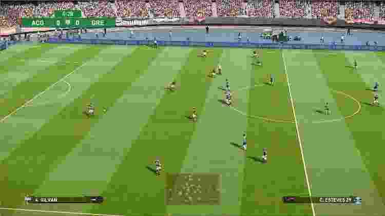 PES 2021 campo - Daniel Esdras/GameHall - Daniel Esdras/GameHall