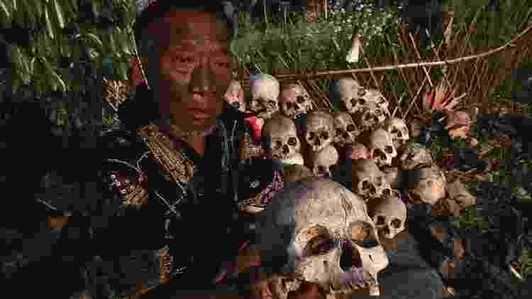 O povo Naga acreditava que cabeças humanas eram fonte de poder - Getty Images - Getty Images