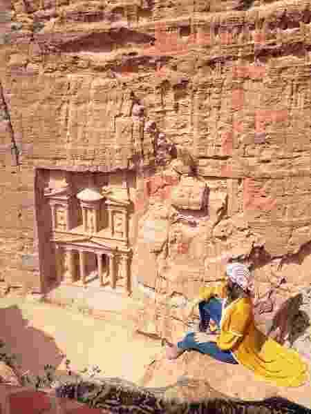 Ana Vieira em Petra, Jordânia - Arquivo pessoal - Arquivo pessoal