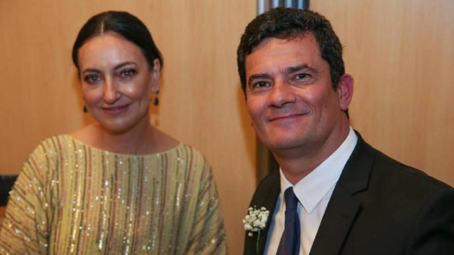 Ronsagela Moro e Sergio Moro - Pedro Ladeira/Folhapress