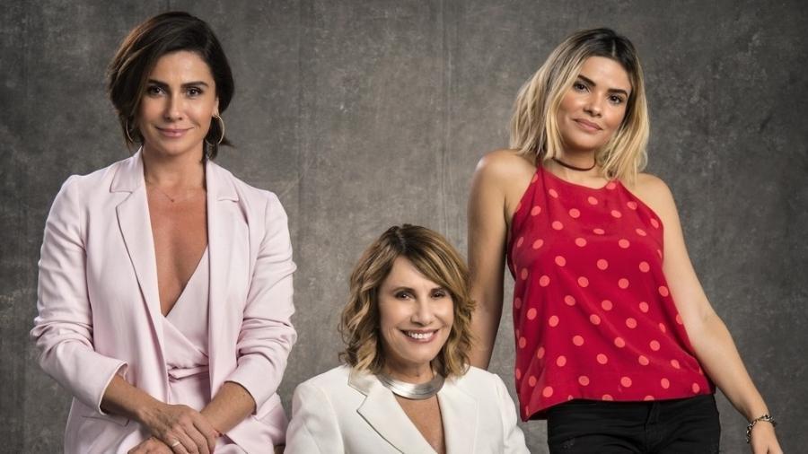 """Giovanna Antonelli, Renata Sorrah e Vanessa Giácomo, em """"Filhas de Eva"""" - Divulgacão"""
