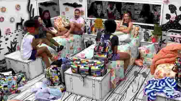 BBB 21: Brothers falam sobre sexo no quarto cordel - Reprodução/Globoplay - Reprodução/Globoplay