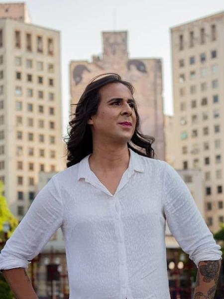 A vereadora Duda Salabert, da ONG Transvest, que distribuiu renda e cestas básicas para 148 mulheres trans e travestis - Reprodução redes sociais