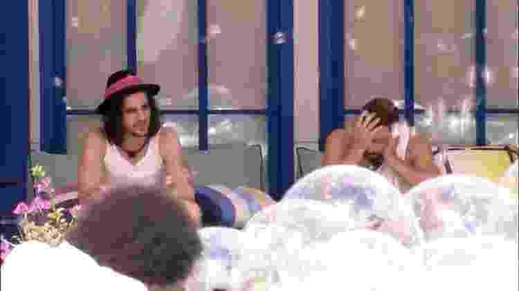 BBB 21: Fiuk desabafa com Caio sobre paredão - Reprodução/Globoplay - Reprodução/Globoplay