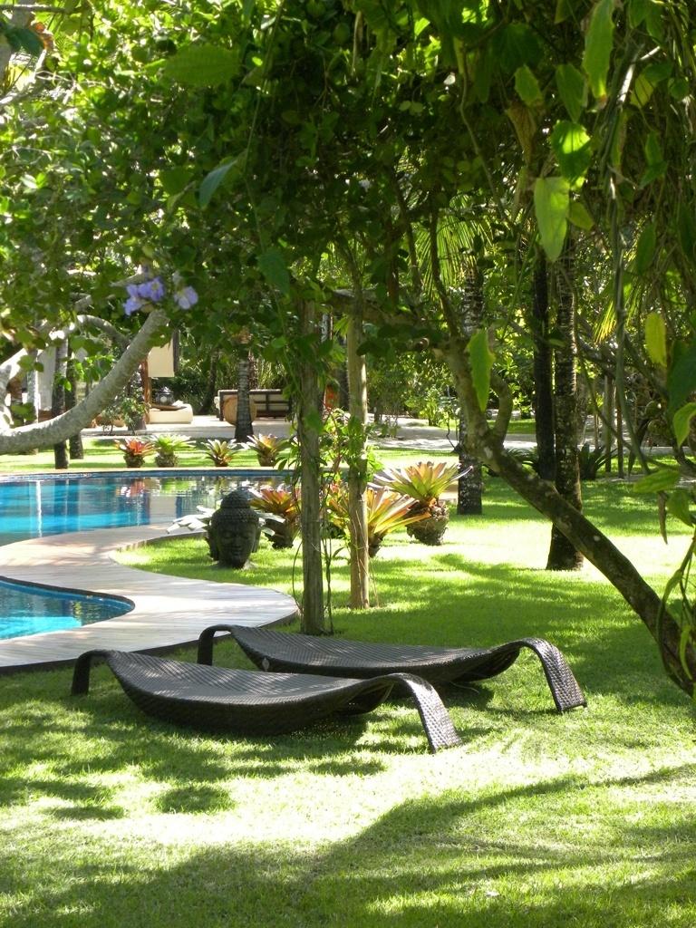 O jardim à beira-mar desta residência em Trancoso cc7b5e0abea28