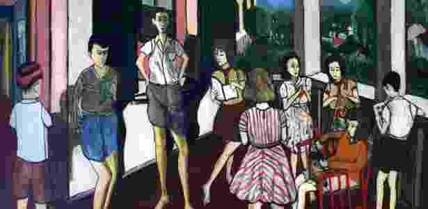 """Obras """"Sala de Leitura"""" (1944), da artista Djanira - Divulgação"""