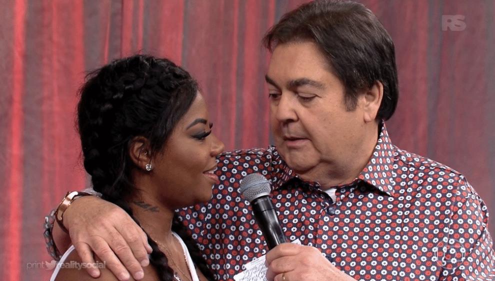 15.mai.2016 - Faustão e Ludmilla