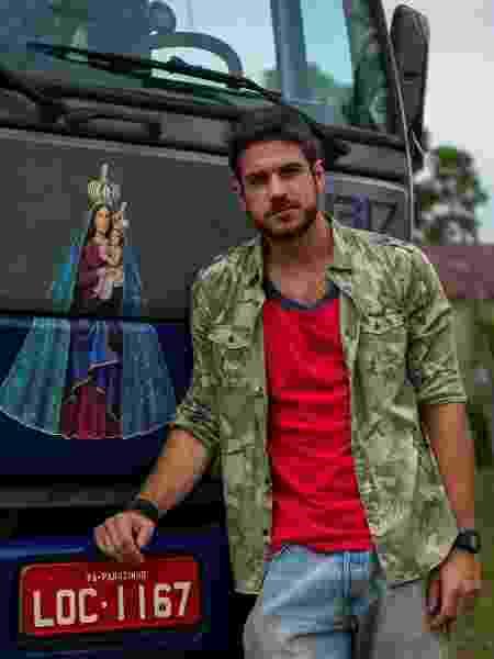 """O ator Marco Pigossi interpreta o motorista Zeca, em """"A Força do Querer"""" - Estevam Avellar/TV Globo"""