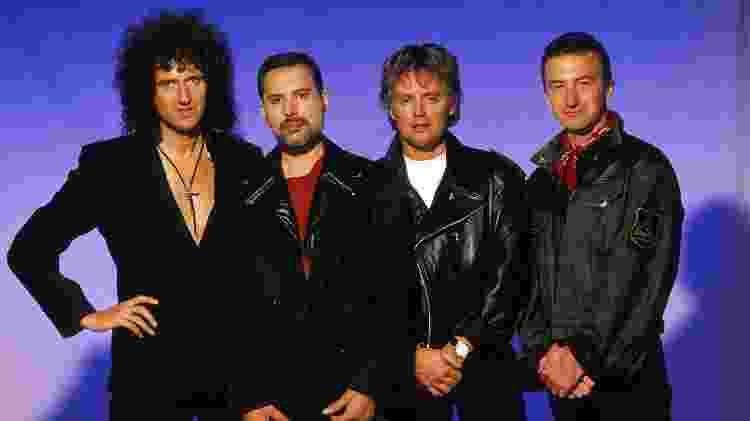 Queen em formação clássica: Brian May, Freddie Mercury, Roger Taylor e John Deacon - Divulgação - Divulgação