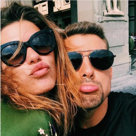 Mariana Goldfarb e Cauã na Itália - Reprodução/Instagram