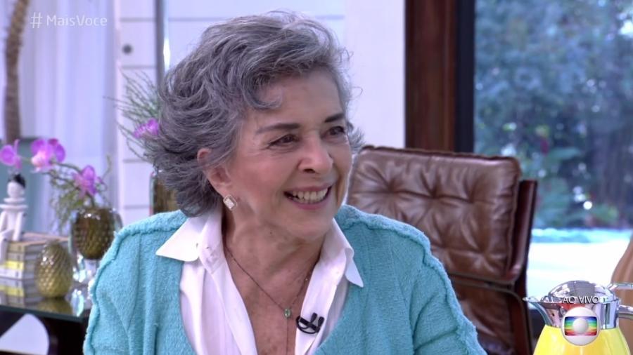 """Betty Faria participa do """"Mais Você"""" e afirma estar incomodada com opiniões polarizadas - Reprodução/Globo"""