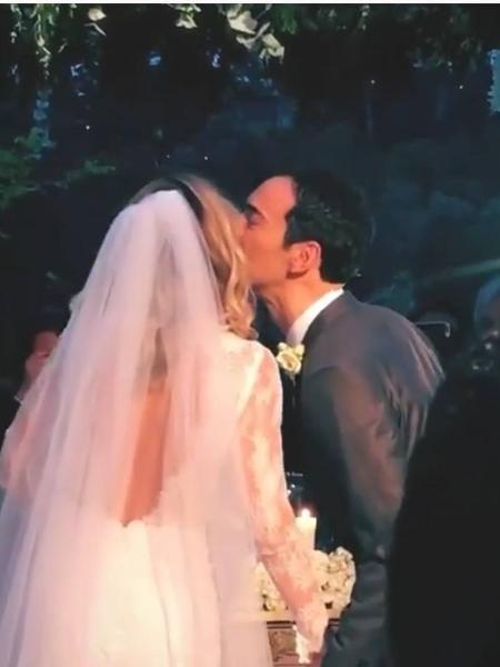 Ticiane Pinheiro e César Tralli se casam em Campos do Jordão - Reprodução/ Instagram