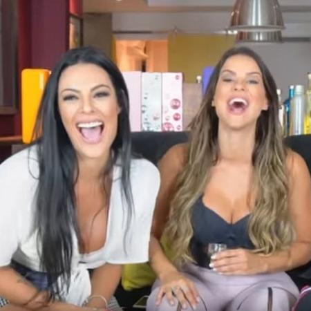 Monique Amin e Carol Dias - Reprodução / Youtube