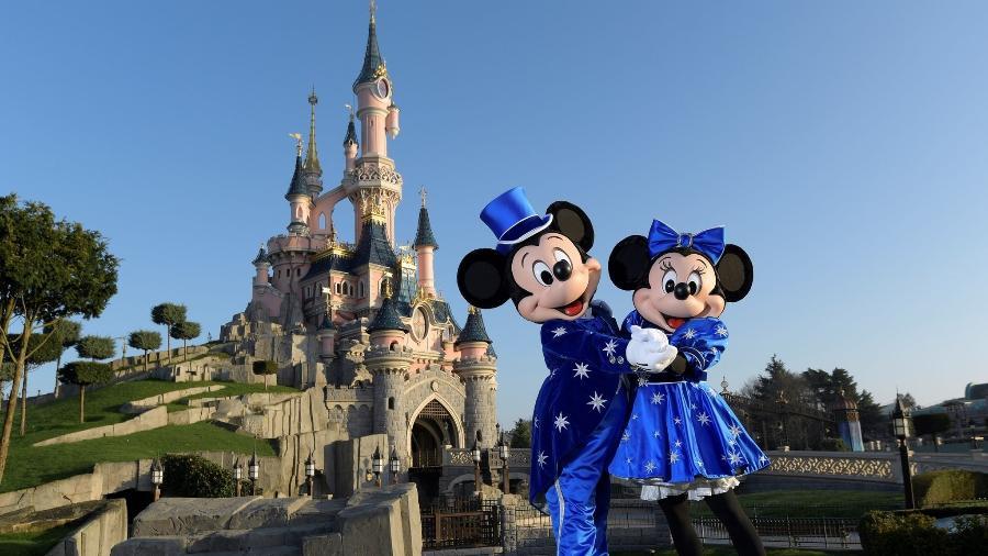 Imagem da Disneyland Paris - Getty Images